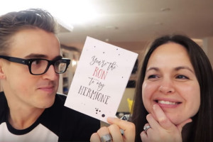 Featured on Tom Fletcher & Giovanna's Youtube/Instagram